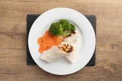 Bean-Veg-Fajita-Broccoli-Carrots